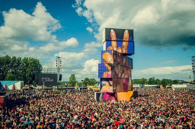 Rock Werchter + 1 night brussle